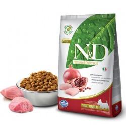 N&D Dog 0,8кг беззерновой для щенков всех  пород,курица/гранат