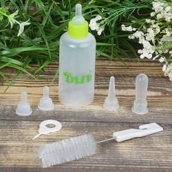 Набор для вскармливания Dill бутылочка 60мл + 4 соски + ершик