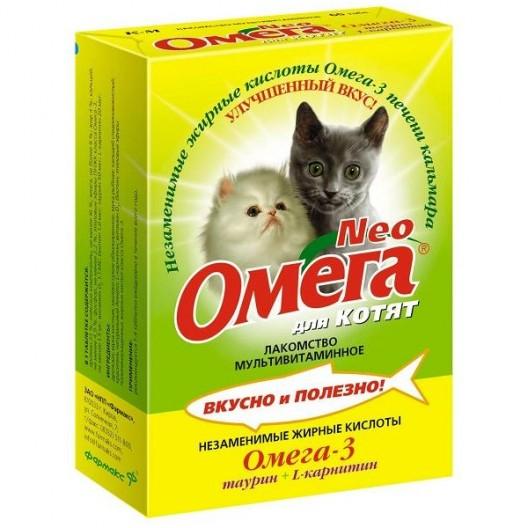 Купить Омега Neo для котят 60 табл.
