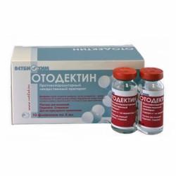 Отодектин 0,1%, фл. 10 мл