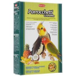 PADOVAN Grandmix Parrocchetti Основной корм для средних попугаев,0,85 кг