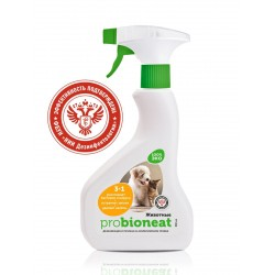 "Probioneat Дезинфицирующее средство для кошек Ликвидатор запаха Bioneat ""Кошки"", 500 мл"