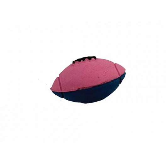 Купить Мячик зефирный регби 6 см двухцветный