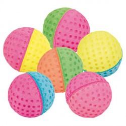 Игрушка Трикси 4096 мяч/гольф-зефир для кошки цветной 5 см