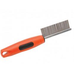 Расческа мягкая ручка длинный частый зуб №4