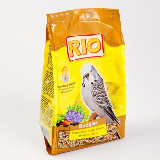 Купить Рио корм для волнистых попугаев в период линьки