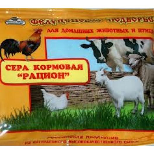 """Купить Сера кормовая молотая """"Рацион"""" 150 гр."""