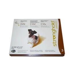 Стронгхолд д/собак 5,1 - 10,0 кг 3 пипетки