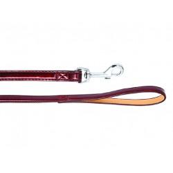Поводок Колибри лаковый 15 мм*120 см вишневый