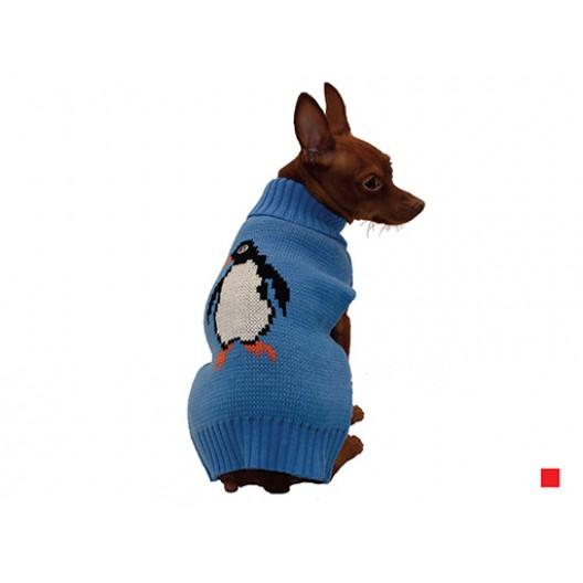 Купить Свитер Пингвин красный 20 см