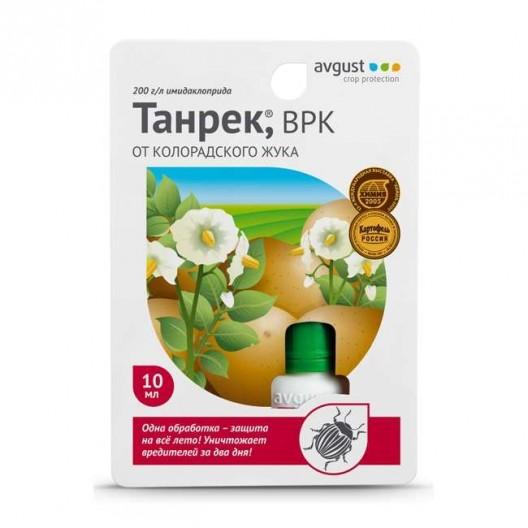 Купить Танрек 10 мл от колорадского жука и комплекса вредителей на овощных и цветочных культурах