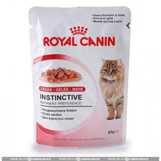 Купить RoyalCanin инстинктив в желе 0.085 кг