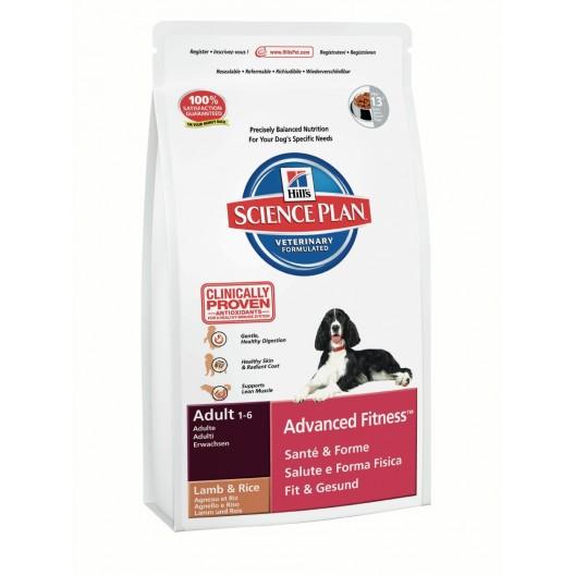 Купить Hills SP Canine Adult AFit Lamb & Rice сухой корм для собак ягненок/рис 3 кг