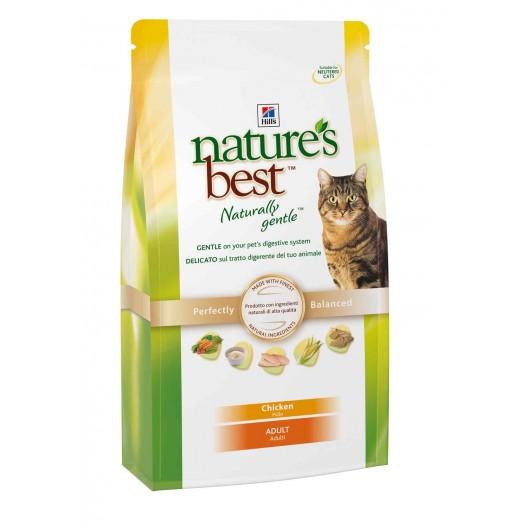 Купить Hills NB Feline Adult with Chicken сухой корм для кошек курица и овощи 300 г.