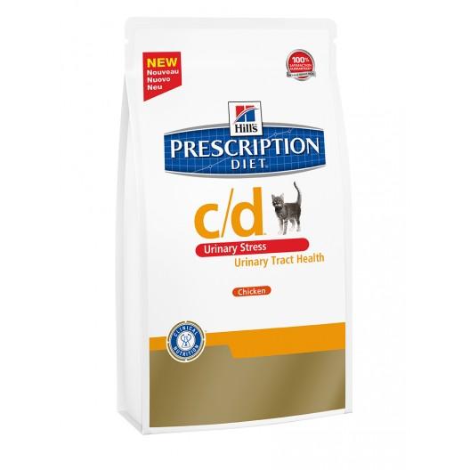 Купить Хиллс сухой корм для кошек при стрессе 400 г.