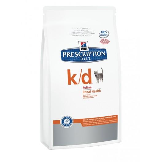 Купить Hills Feline k/d для кошек Лечение заболеваний почек 400 гр.