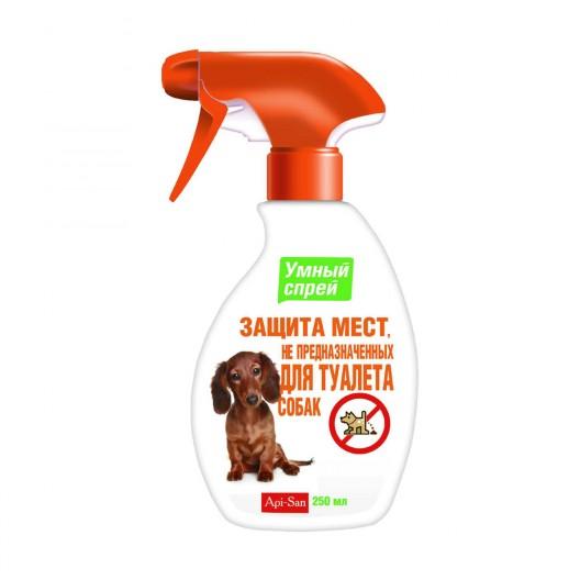 Купить Спрей Умный Защита мест не предназначенных для туалета собак 250 мл