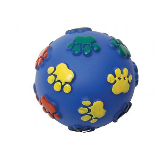 Купить Мяч Лапки резиновый 12,5 см