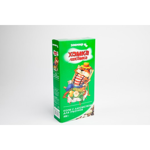 Купить Хомка-лакомка корм-лакомство для грызунов 500 г.