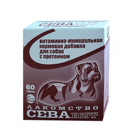 Купить Севавит лакомство для собак с биотином