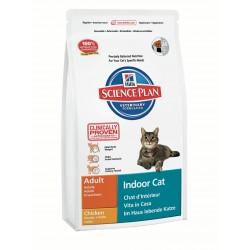 Hills SP Feline Adult Indoor Cat Chicken сухой корм для кошек домашнего содержания