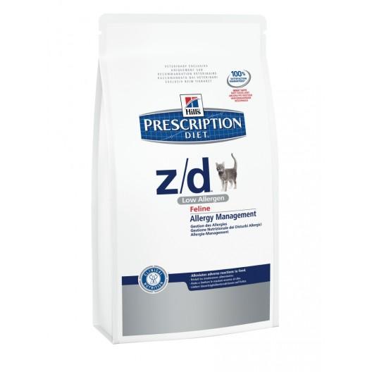 Купить Hills Feline z/d Low Allergen корм для кошек аллерг. 2 кг