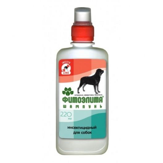 Купить Фитоэлита шампунь инсектицидный  для собак