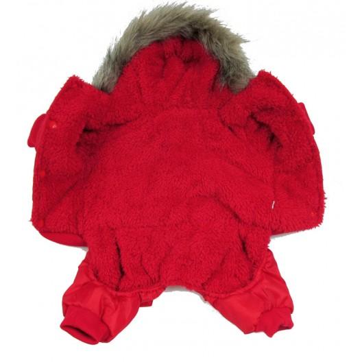 Купить Комбинезон зима USA красный 25 см