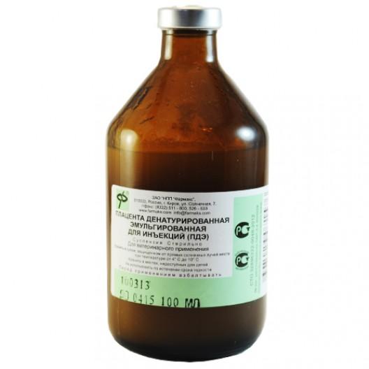 Купить Плацента Денатурированная Эмульгированная для инъекций (ПДЭ) 250 мл