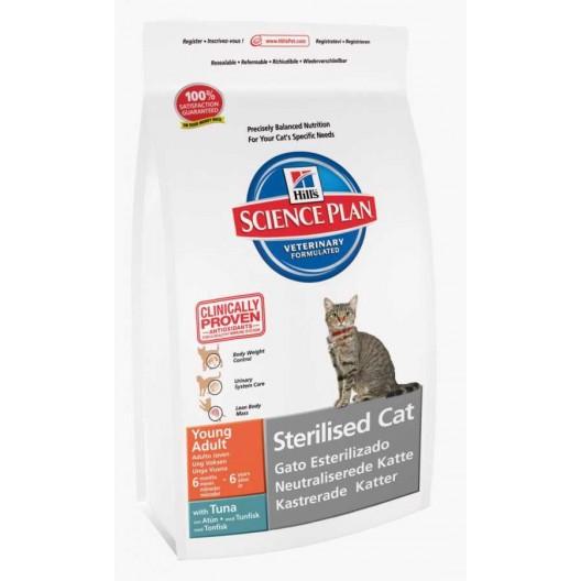 Купить Hills Sterilised Cat 300 гр.  с тунцом