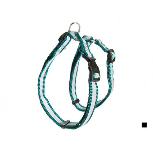 Купить Шлейка нейлон светоотражающая 25 мм*45/60 см черный