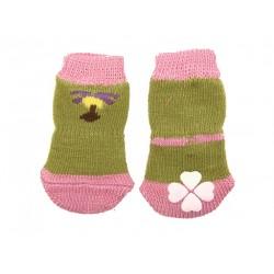 Носки с прорезиненной подошвой XL 4 см*10 см (4 шт)