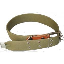 Ошейник  брезентовый №45 одинарный на ватине сварное кольцо