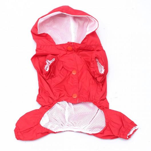Купить Комбинезон - дождевик Красный 40-45 см