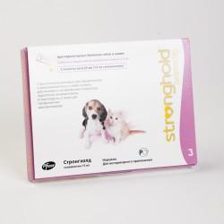 Стронгхолд 15 мг против блох, клещей для щенков и котят