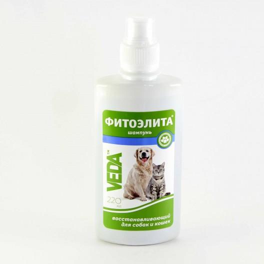 Купить Фитоэлита шампунь восстанавливающий для собак и кошек