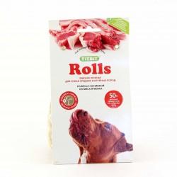 Мясное печенье Роллс для собак крупных пород 200 г