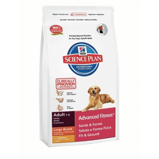Купить Хиллс сухой корм для собак крупных пород курица 3 кг