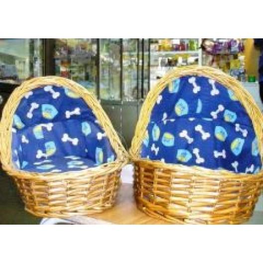 Купить Эстрада плетеная овальная полузакрытая №1 30*24*25*8 см