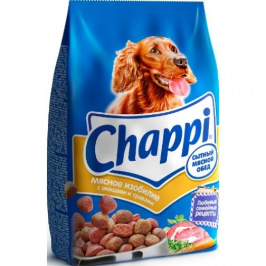 Купить Сухок корм Chappi Аппетитная курочка 2.5 кг