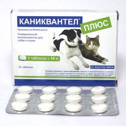 Каниквантел плюс- 1 таблетка