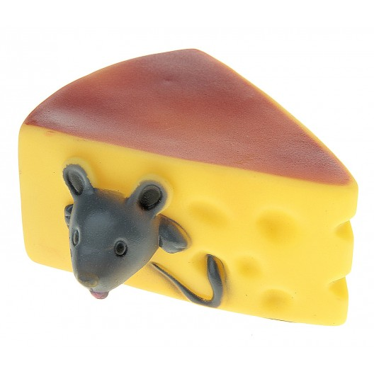 Купить Игрушка резиновая Сыр с мышонком