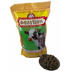 Фелуцен Золотой для коров, быков, нетелей, телят гранулы пакет 3 кг