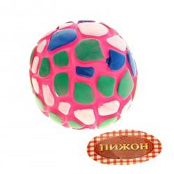 """Резиновый """"Мяч - пятнашка"""" 7 см"""