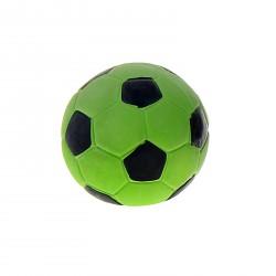 Футбольный мяч 7,5 см латексный, пищащий