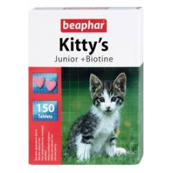 Beaphar kittys junior биотин 150 таб.