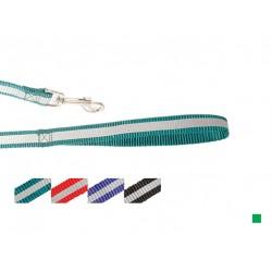 Поводок нейлон светоотражающий 10 мм*120 см, зеленый