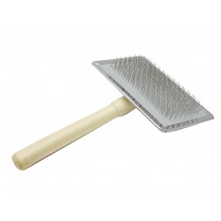 Пуходерка деревянная ручка без шариков №M