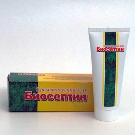Купить Косметический гель Биосептин