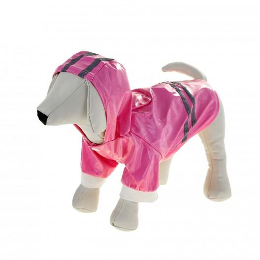Купить Куртка со светоотражающими полосами, L, розовая